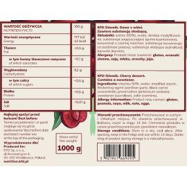 Cherry Fruit Jam 1kg KFD