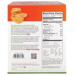 Organic Gluten-Free Crackers Sweet Potato + 3 Grains 850g Rw Garcia