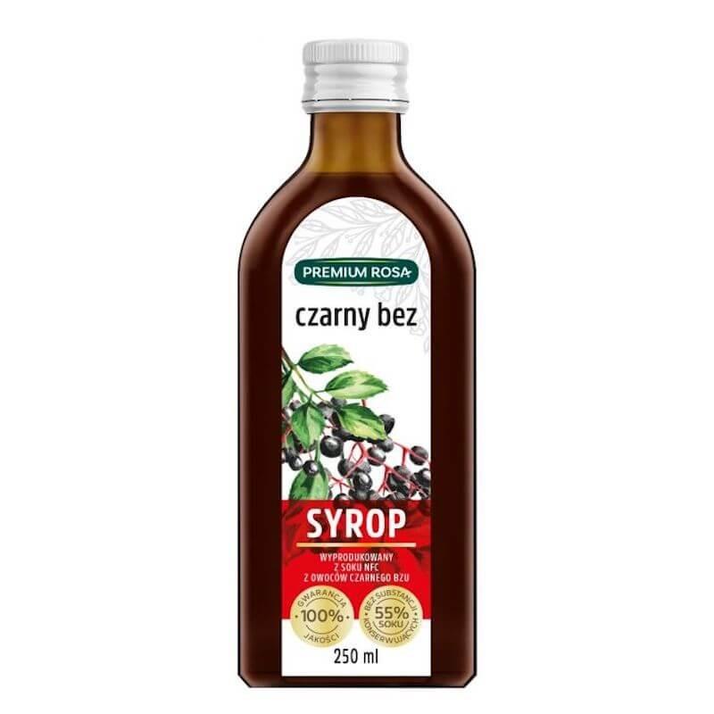elderberry syrup 250ml premium rosa