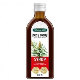 pine shoots syrup 250ml premium rosa