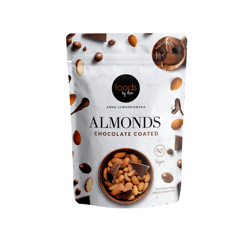 Almonds Chocolate Coated 60% 75g foods by ann