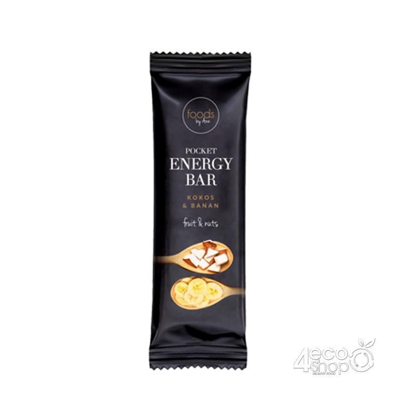 POCKET ENERGY BAR COCONUT & BANANA 35G FOODS BY ANN