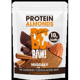 be raw protein almonds dark chocolate & cinnamon 45g