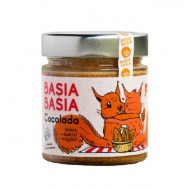 Cocolada Spread based on coconut, dates and pieces of almonds 210g Basia Basia
