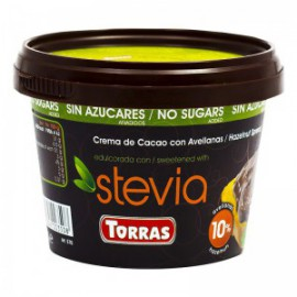 SUGAR FREE CREAM CACA0 AND HAZELNUT SPREAD 200G TORRAS