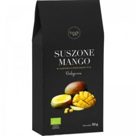 ORGANIC DRIED MANGO IN CHOCOLATE 50G FOODS BY ANN