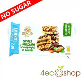 SUGAR FREE CAKES WITH PEANUTS 80G BERGEN