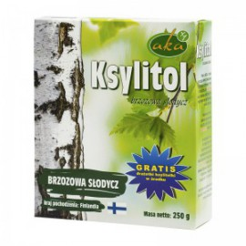 BIRCH SUGAR XYLITOL250G AKA