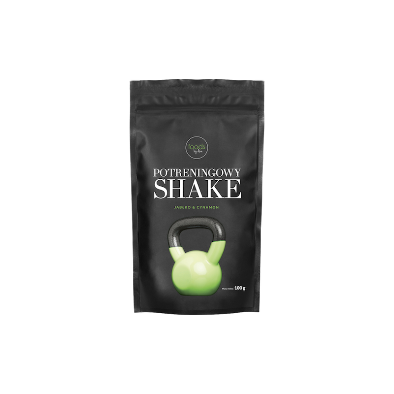 POST WORKOUT SHAKE APPLE & CINNAMON 100G FOODS BY ANN
