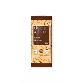 SUGAR FREE BAR NUT & COFFEA 35G DOBRA KALORIA